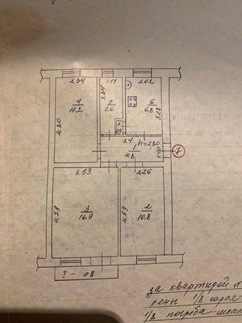 Продам квартиру в Кременной + пристройка. ( Торг уместен )