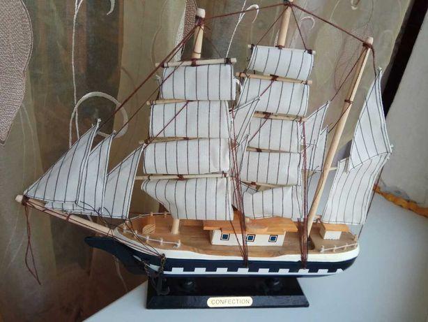 Парусник, корабль, модель, макет