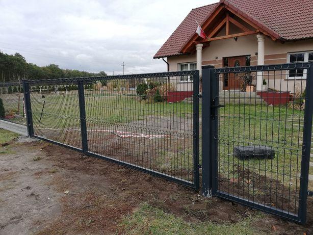 TANIO SZYBKO I SOLIDNIE- Sprzedaż oraz Montaż ogrodzeń panelowych.