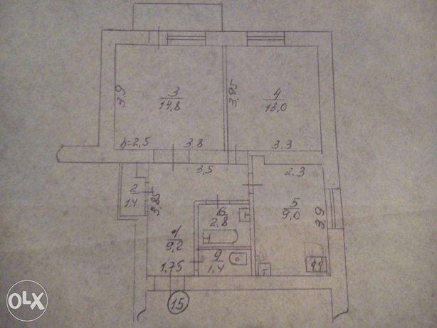 Продам 2-х комнатную квартиру чешку с автономным отоплением