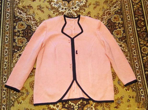 Кофта - пиджак, большой размер.Цена 400 руб