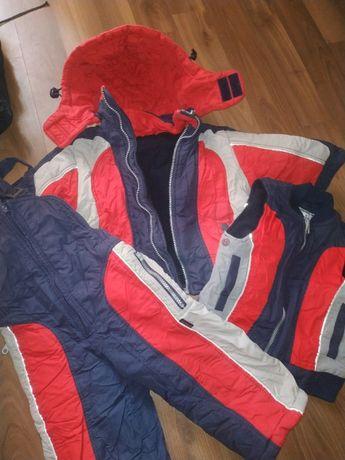 Зимний костюм 3в1 Куртка, штаны, жилет.