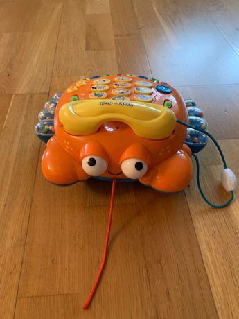 Telefon krab interaktywny