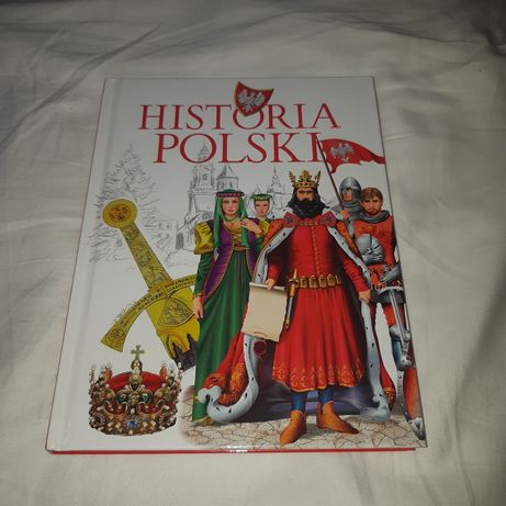 "Książka ""Historia Polski"" wyd. Olesiejuk"