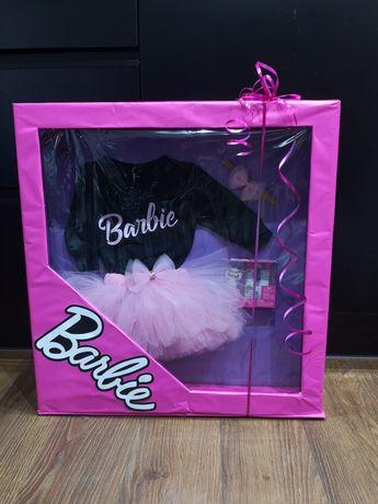 Opakowanie prezentowe w stylu Barbie