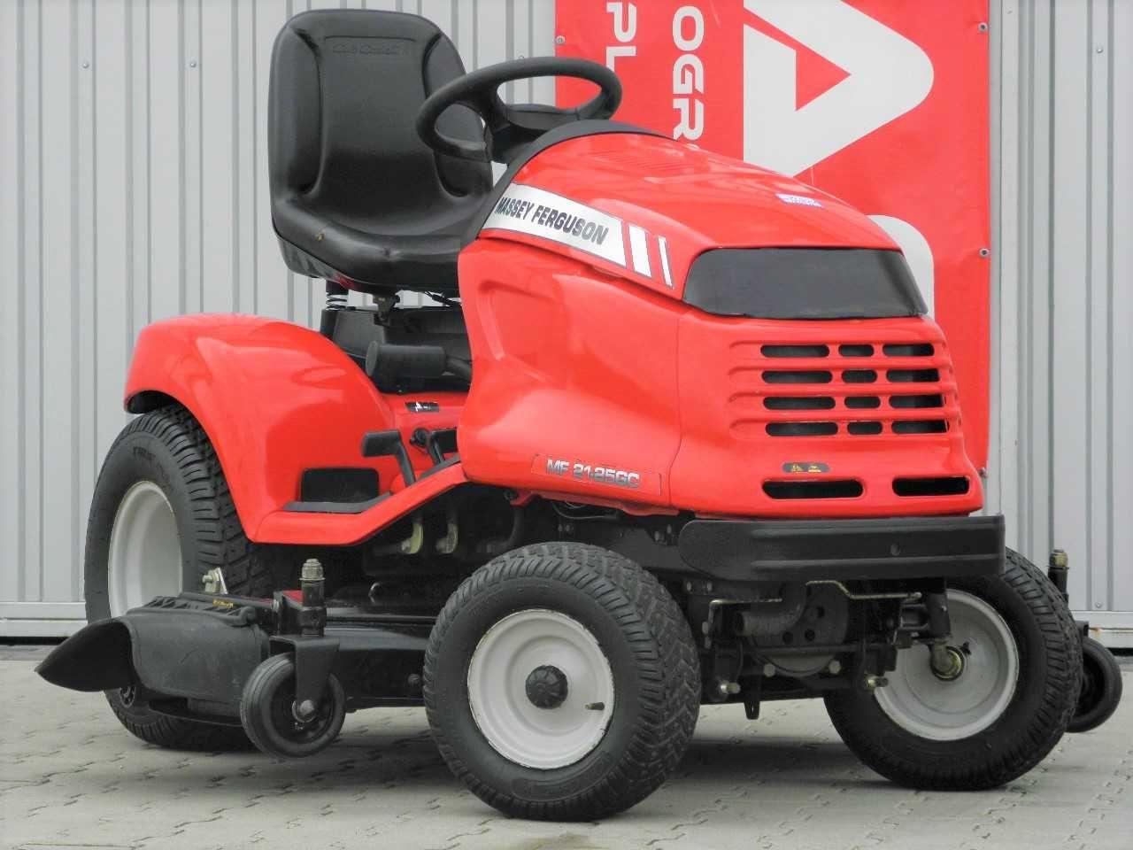 Traktorek kosiarka Massey Ferguson KOHLER 25KM (180503) - Baras