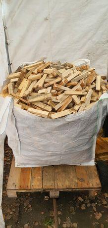 Rozpałka drzewo worek bigbag! 0,5m3 Suche drewno rozpałkowe!