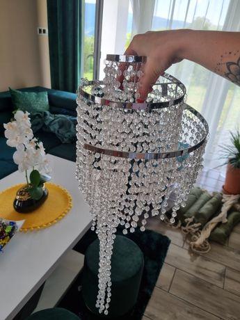 Next lampa kryształki nowa