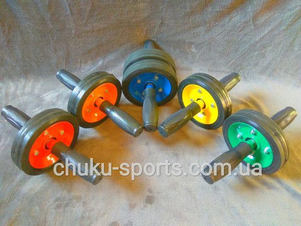 Колесо / Ролик / Тренажёр для пресса (с одним и двумя колесами)