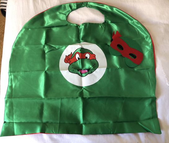 Mascara/ Capa Tartaruga Ninja