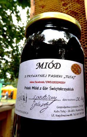 Miód z własnych uli z Gór Świętokrzyskich Wysyłka Odbiór Piaseczno