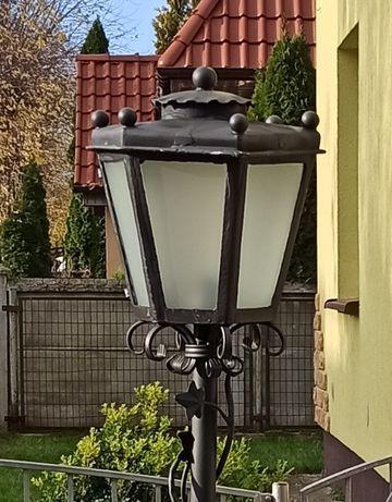 Lampa retro rustykalna ozdobna - Kuta 100% ręczna robota