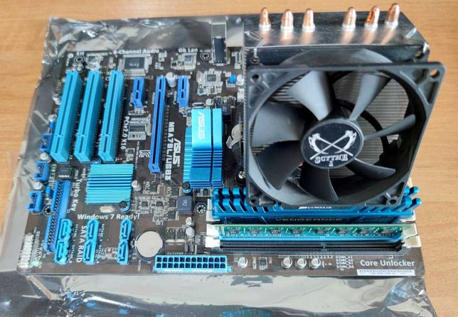 Игровая сборка FX 8300 + 16Gb DDR3 + Asus M5A78L/USB 3.0 AM3+ SKYTCHE
