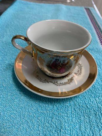 Chávena e pires antigos Limoges