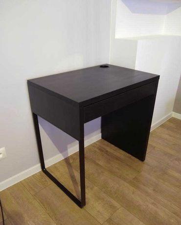 Biurko MICKE IKEA, czarnobrąz 73x50