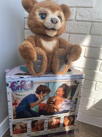 Интерактивный мишка FurReal Friends Медвежонок Кабби Cubby