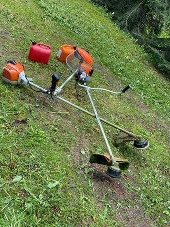 Koszenie trawników, wykaszanie działek