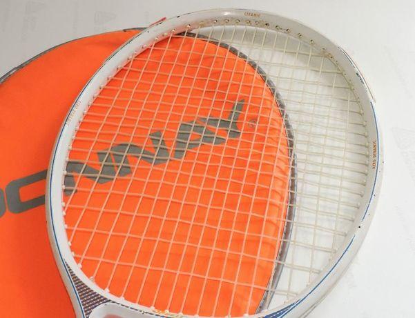 Rakieta do tenisa ziemnego z pokrowcem
