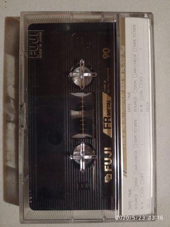 Kaseta magnetofonowa FUJI 90 Metal stan kolekcjonerski