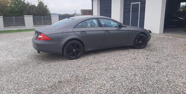 Mercedes cls 500 po gruntownym serwisie