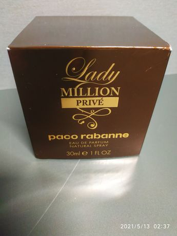 Духи оригинал paco rabanne Lady million PRIVE женские