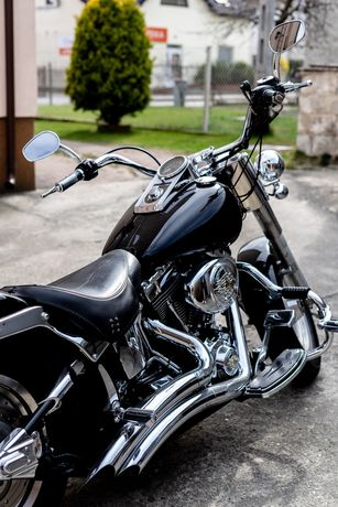Harley Davidson Fat Boy Rumia 3miasto Polecam