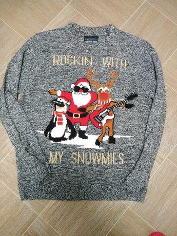 Новорічний светр, кофта xl