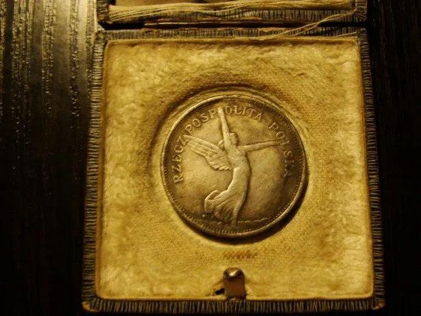 Polska 5 złotych anioł Nike 1931 RANT moneta II RP