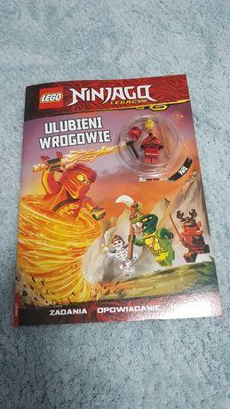 Książeczka komiks lego ninjago z figurką