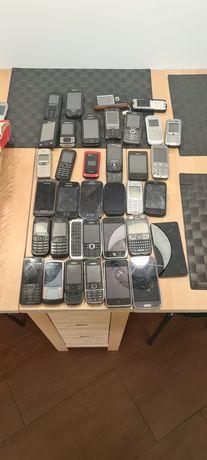 Sprzedam zestaw 35 telefonów  okazja !!