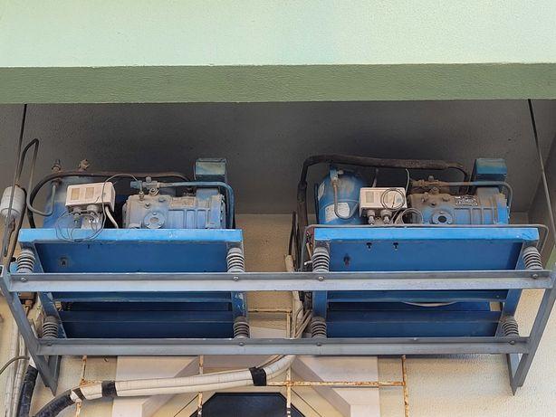 Motores usados para fazer frio