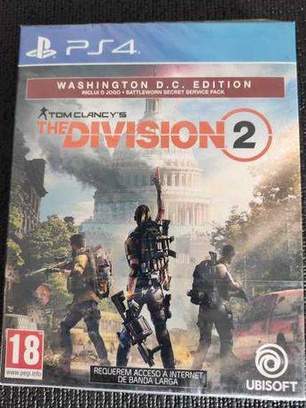NOVO Tom Clancy's The Division 2 Washington D.C. Edition PS4 com MAPA