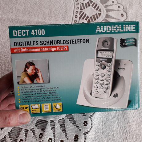 Telefon przenośny Audioline model DECT4100 nowy