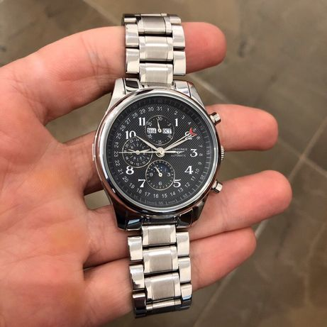Zegarek Longines Master Collection Moonphases Steel Automatic Silver-B