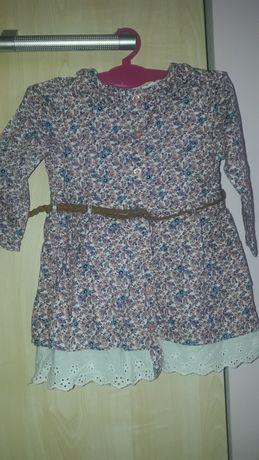 Young Dimension peikna sukienka w kwiatki 80 cm