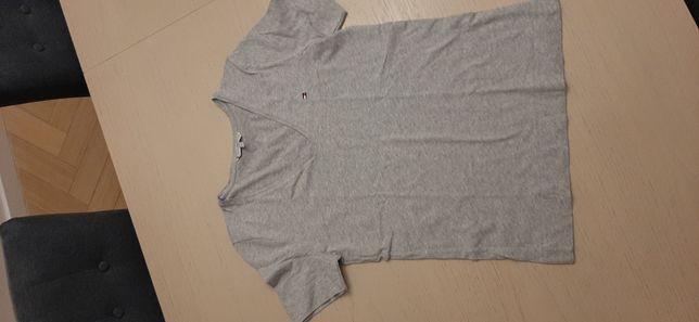 Tommy hilfiger t-shirt szary melanż rozmiar xs
