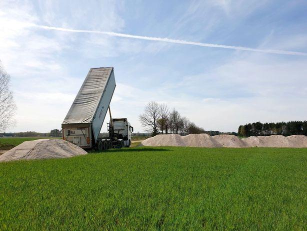 KREDA WAPNO NAWOZOWE rolnicze Węglanowe lub Magnezowe z dowozem