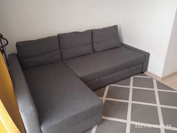 Narożnik,sofa,łóżko IKEA FRIHETEN