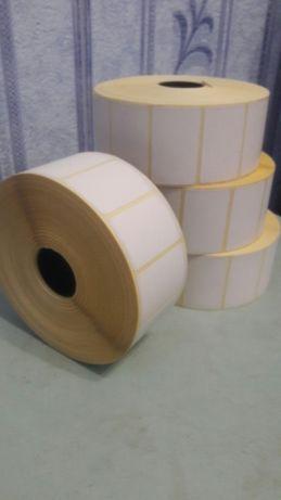 Термоэтикетка для весов 25×40 2000 шт в рулоне