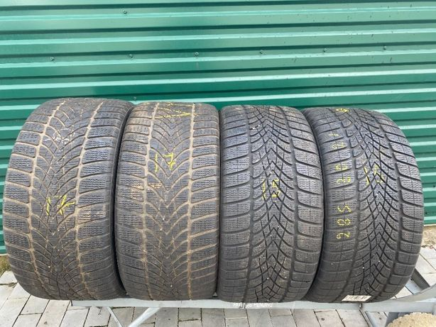 Шини зимові бу 285/30R21 Dunlop Winter Sport5 4шт 6-6,5мм