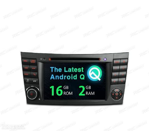 AUTO RADIO GPS ANDROID 10 MERCEDES BENZ W211 W219