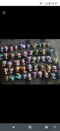 LPS zabawki figurki