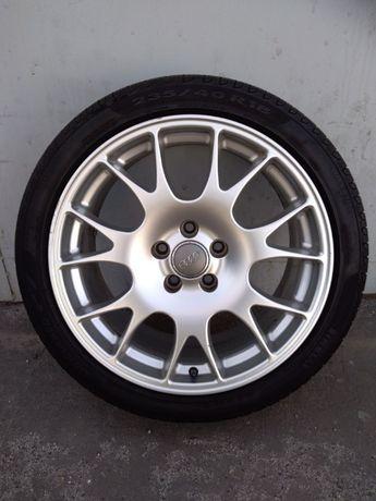 Alufelgi AUDI 18 cali KOŁA BBS Pirelli P7 Audi A4 B6 B7 A6 A8 Top Stan