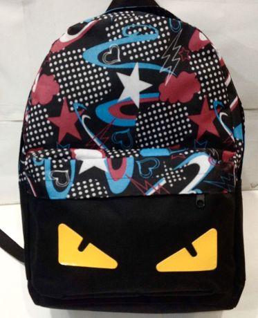 Новый рюкзак для девочки в стиле angry birds.