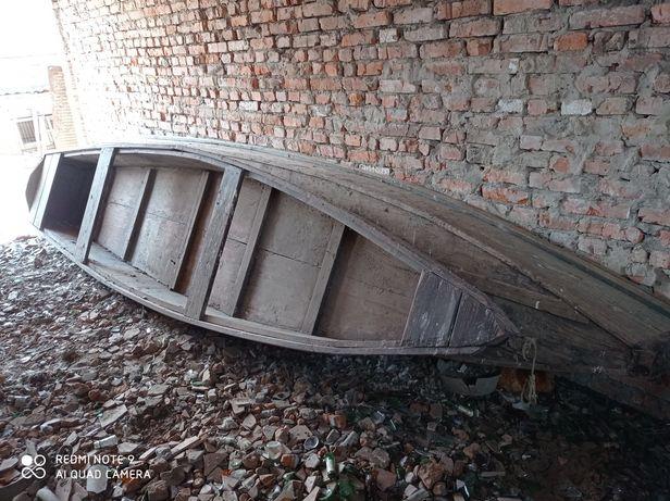 Лодки дерев'яні 2 штуки