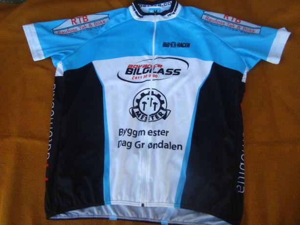 koszulka rowerowa XXL-Bio Racer -klatka od 120-138 cm Italia