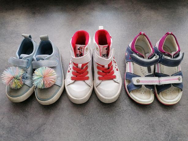 Buty tenisówki trampki sandały H&M Bartek Cool Club r. 25-26