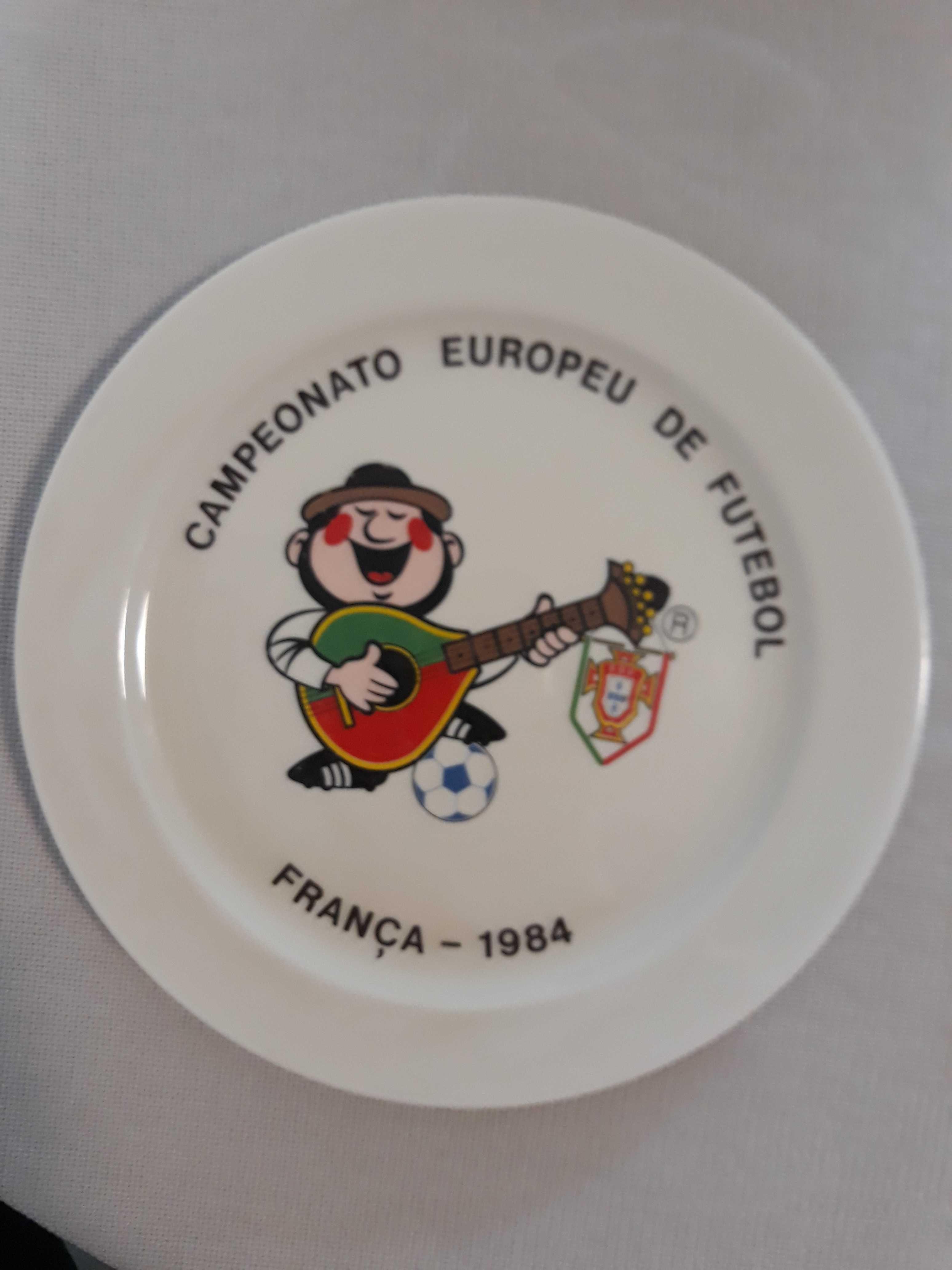 Prato Europeu 1984 Seleção Nacional - Vista Alegre