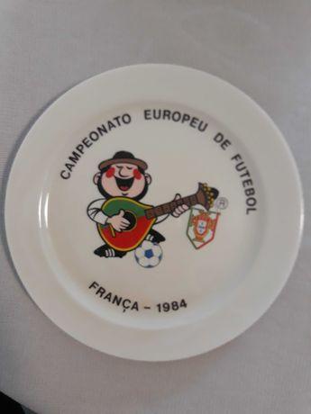 Prato da Seleção Nacional - Vista Alegre - 1984