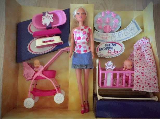 Набор кукла Steffi Love (как Barbie Барби) с младенцем и аксессуарами